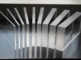 "Plexiglas afschermplaten of kappen ""transparant of in kleur"""