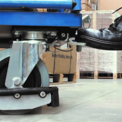 Bok- & Zwenkwiel met voetbescherming